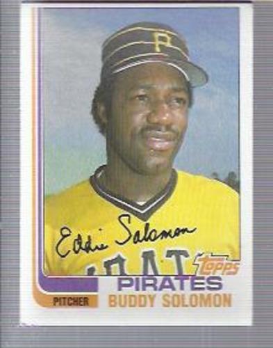 Photo of 1982 Topps #73 Buddy Solomon