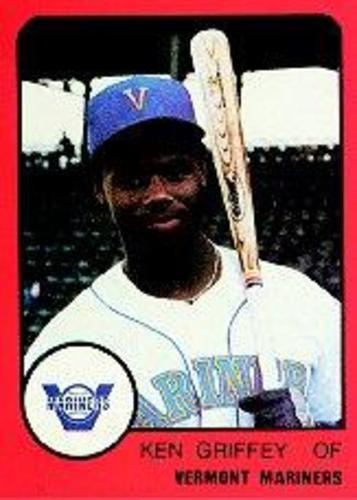 Photo of 1988 Vermont Mariners ProCards Ken Griffey Jr. -- Hall of Fame Class of 2016