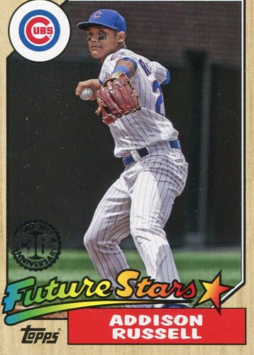 Photo of 2017 Topps '87 Topps #8792 Addison Russell