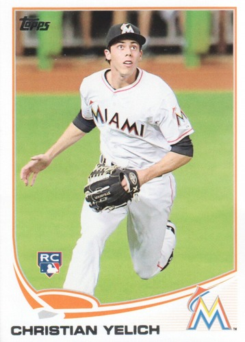 Photo of 2013 Topps Update #US290 Christian Yelich Rookie Card