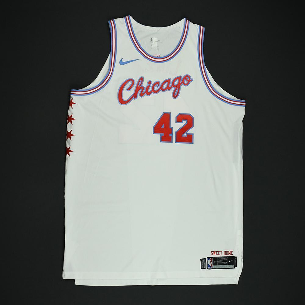 Robin Lopez - Chicago Bulls - Game-Worn 'City' Jersey - 2017-18 Season