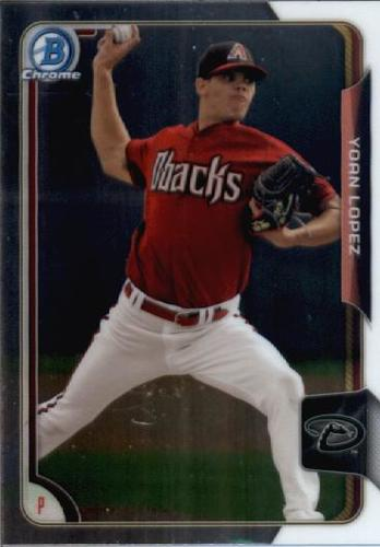 Photo of 2015 Bowman Chrome Draft #2 Yoan Lopez