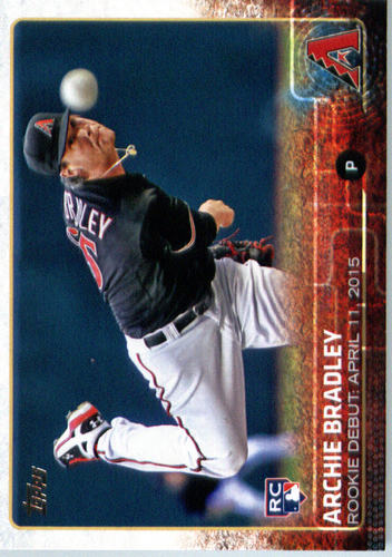 Photo of 2015 Topps Update #US153 Archie Bradley Rookie Card