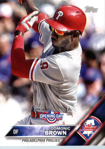 Photo of 2016 Topps Opening Day #OD145 Domonic Brown
