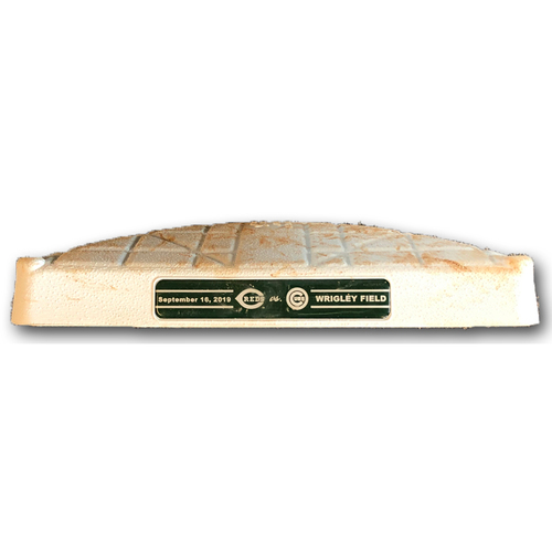 Photo of Game-Used 2nd Base -- Used in Innings 5 through 9 -- Reds vs. Cubs -- 9/16/19