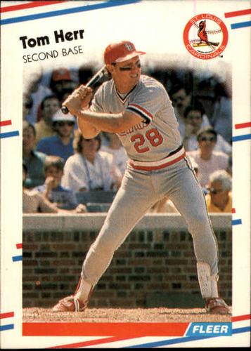 Photo of 1988 Fleer #35 Tom Herr