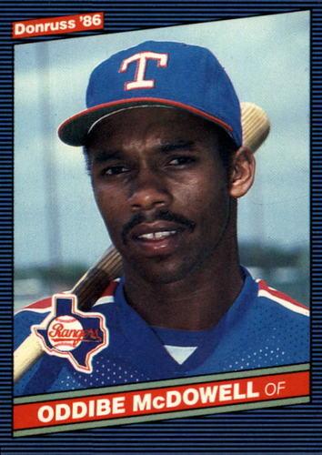 Photo of 1986 Donruss #56 Oddibe McDowell