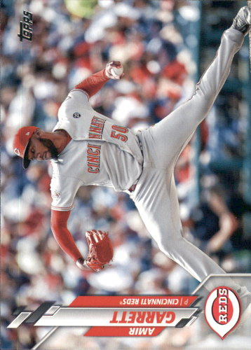 Photo of 2020 Topps #217 Amir Garrett