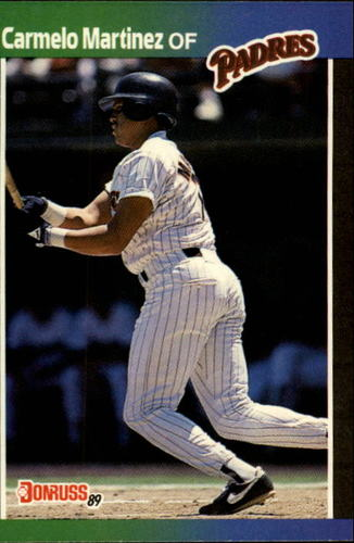 Photo of 1989 Donruss #601 Carmelo Martinez DP