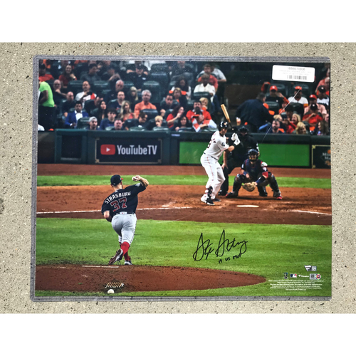Photo of Stephen Strasburg 2019 World Series Champions Autographed Photograph