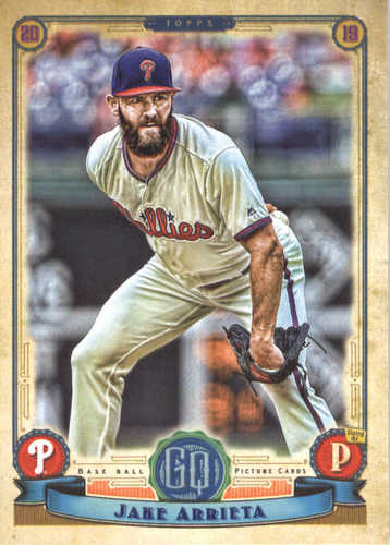 Photo of 2019 Topps Gypsy Queen #31 Jake Arrieta