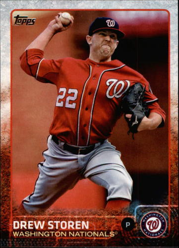 Photo of 2015 Topps #602 Drew Storen