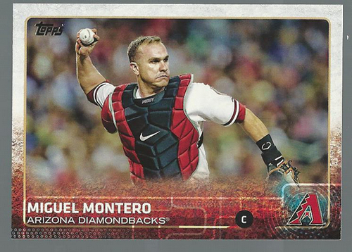 Photo of 2015 Topps #280 Miguel Montero