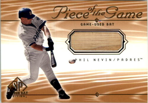 Photo of 2001 SP Game Bat Edition Piece of the Game #PN Phil Nevin SP