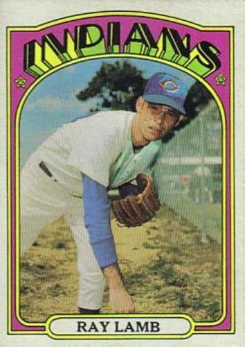 Photo of 1972 Topps #422 Ray Lamb