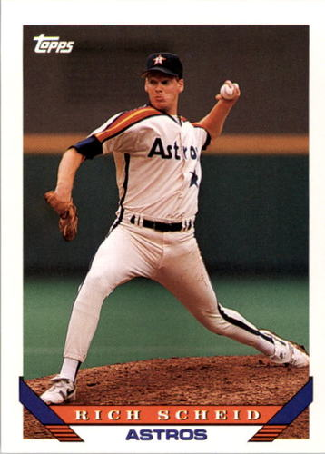 Photo of 1993 Topps #646 Rich Scheid RC