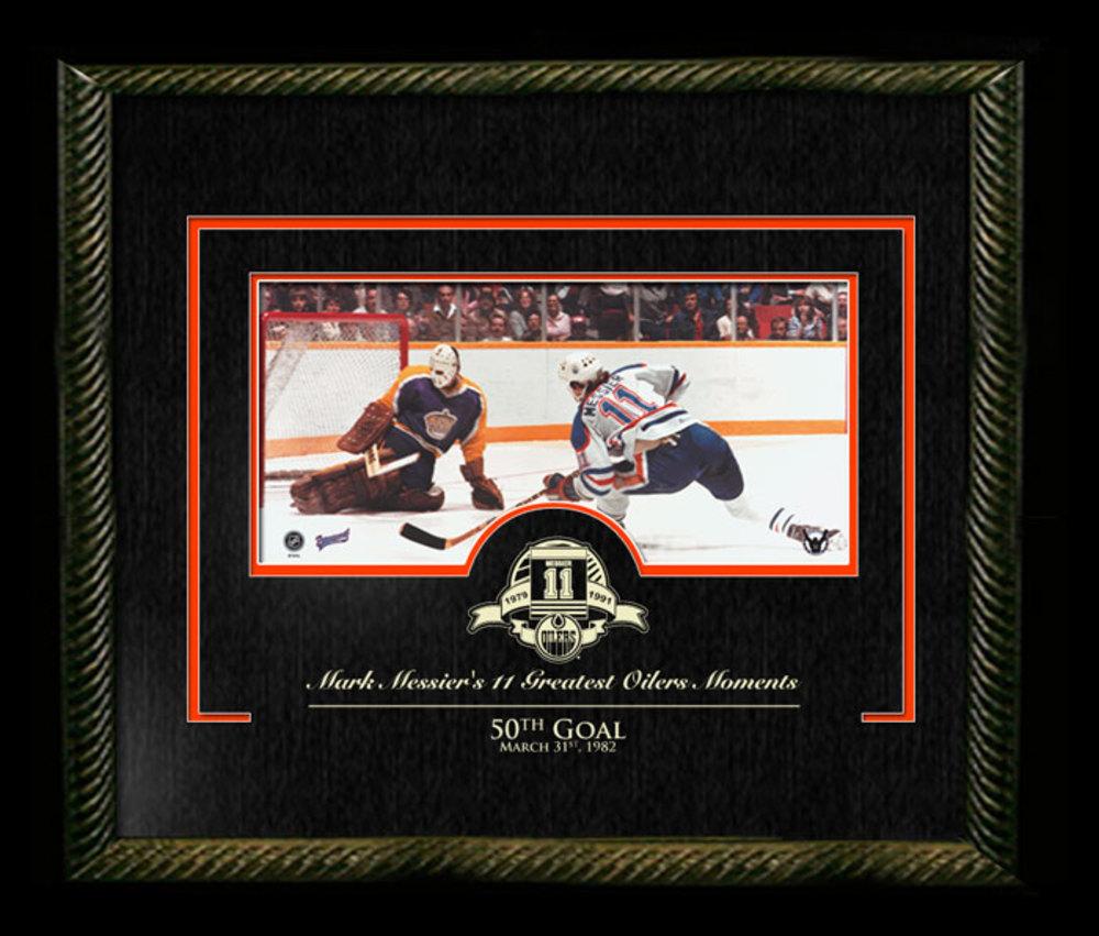 Mark Messier - Signed & Framed 11x14