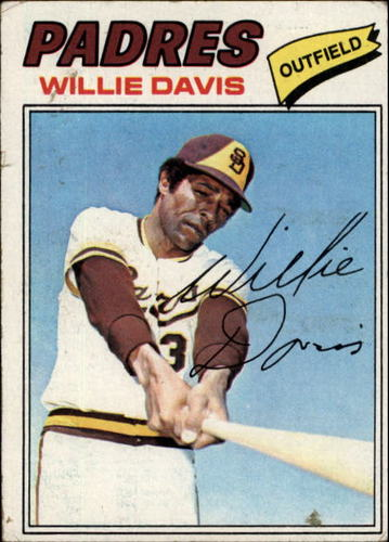 Photo of 1977 Topps #603 Willie Davis