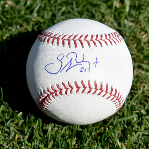 Photo of Stephen Vogt Autographed Baseball