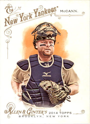 Photo of 2014 Topps Allen and Ginter #297 Brian McCann