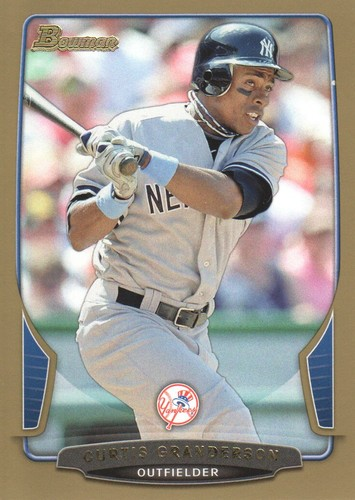 Photo of 2013 Bowman Gold #37 Curtis Granderson