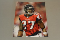 FALCONS - ROBERT MCCLAIN SIGNED 8X10 PHOTO