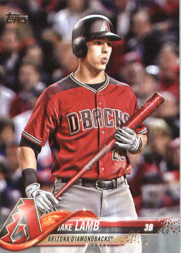 Photo of 2018 Topps #248 Jake Lamb