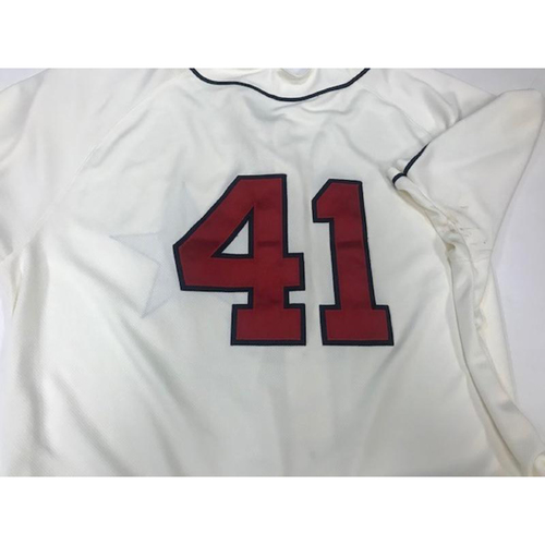 Photo of Game-Used Detroit Stars Jersey: Victor Martinez