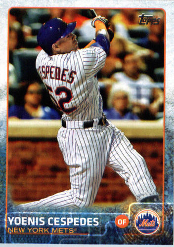 Photo of 2015 Topps Update #US155A Yoenis Cespedes