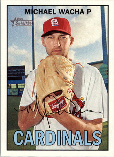 Photo of 2016 Topps Heritage #210A Michael Wacha