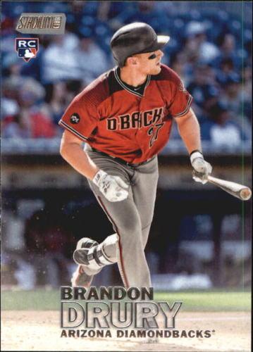 Photo of 2016 Stadium Club #178 Brandon Drury Rookie Card