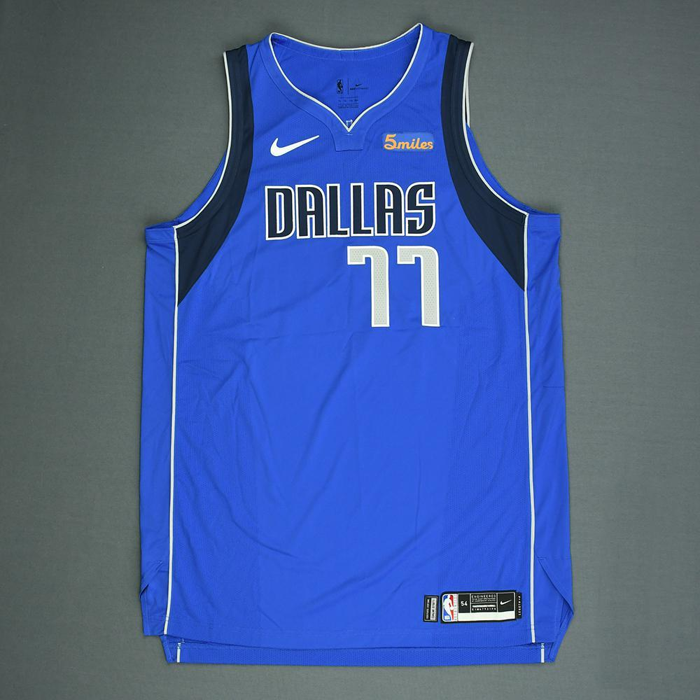 Luka Doncic - Dallas Mavericks - 2018 NBA Draft - Autographed Jersey