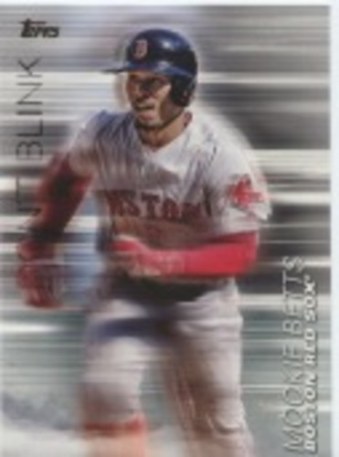 Photo of 2018 Topps Update Don't Blink #DB25 Mookie Betts