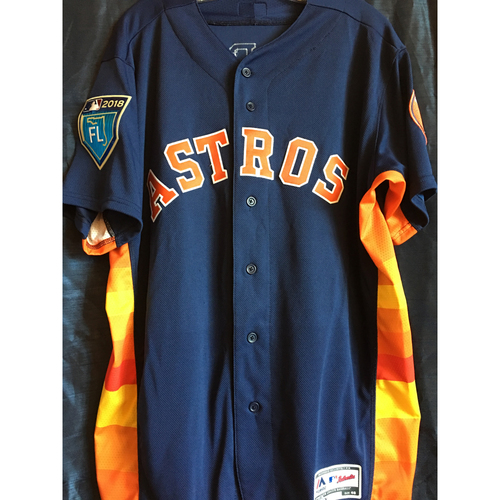 size 40 6f973 f9465 MLB Auctions | Yuli Gurriel 2018 Team-Issued Spring Training ...