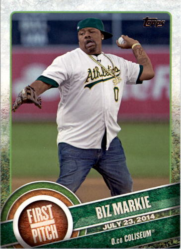 Photo of 2015 Topps First Pitch #FP05 Biz Markie