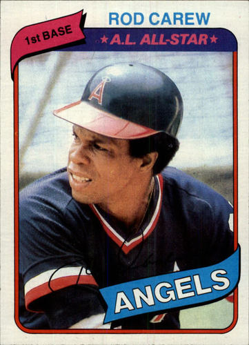 Photo of 1980 Topps #700 Rod Carew DP