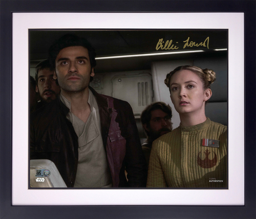 Billie Lourd As Lieutenant Connix 8X10 AUTOGRPAHED IN 'GOLD' INK PHOTO