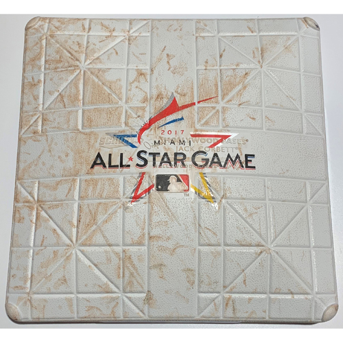 Photo of 2017 All Star Game Used 1st Base -  Innings (9th - 10th) - July 11th