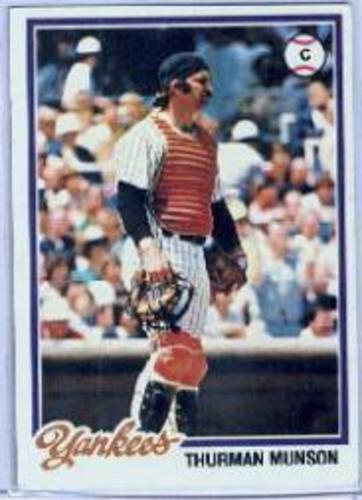 Photo of 1978 Topps #60 Thurman Munson