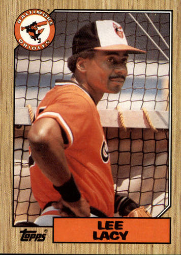 Photo of 1987 Topps #182 Lee Lacy