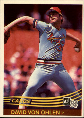 Photo of 1984 Donruss #205 Dave Von Ohlen