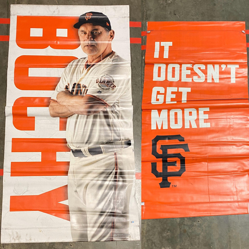 Photo of 2019 Street Banner - #15 Bruce Bochy