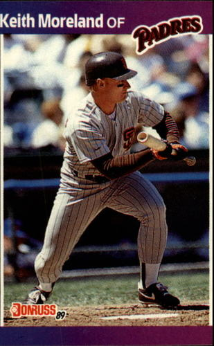 Photo of 1989 Donruss #111 Keith Moreland