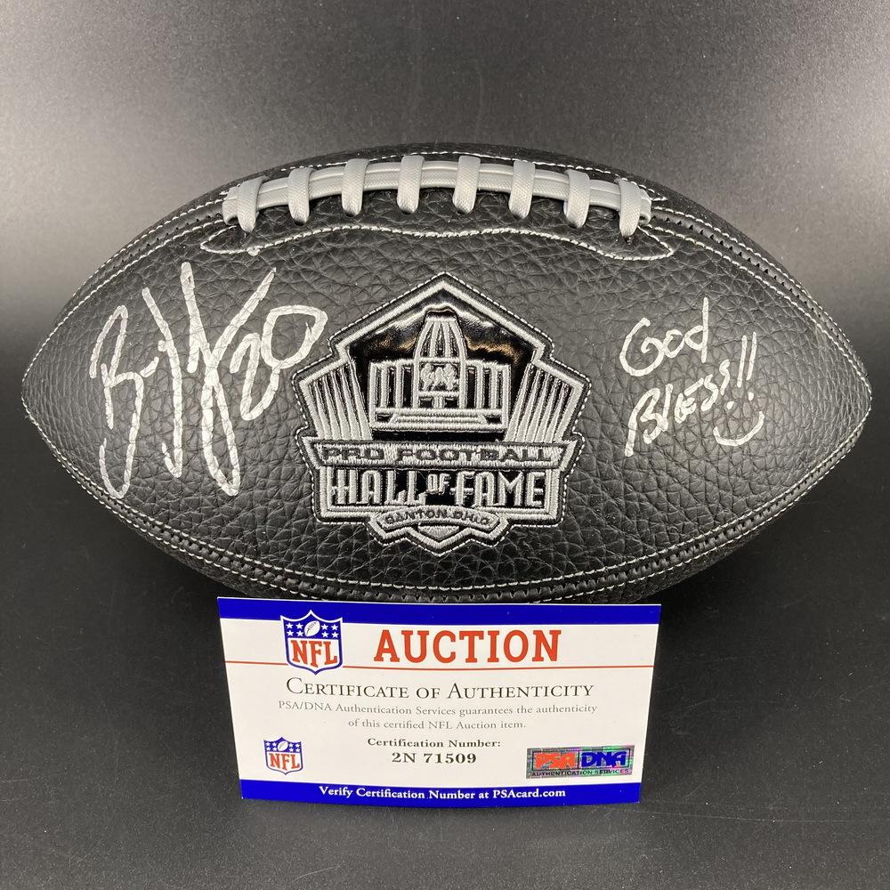 PCC - Eagles Brian Dawkins Signed NFL 100 Hall of Fame Composit Football