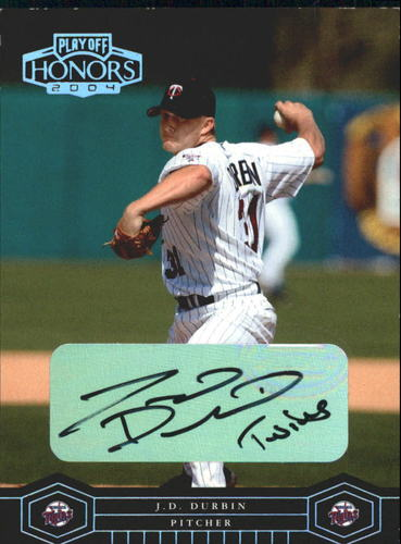 Photo of 2004 Playoff Honors Signature Silver #113 J.D. Durbin/100