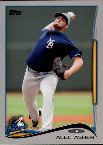 Photo of 2014 Topps Pro Debut Silver #123 Alec Asher
