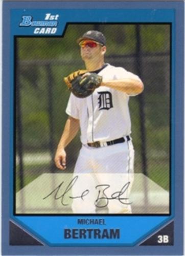 Photo of 2007 Bowman Prospects Blue #BP73 Michael Bertram
