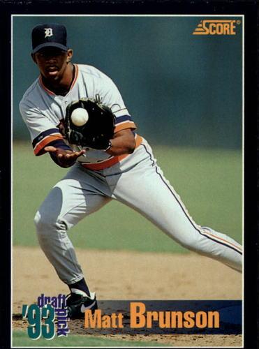 Photo of 1994 Score #532 Matt Brunson RC