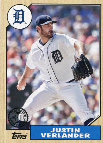 Photo of 2017 Topps '87 Topps #8798 Justin Verlander