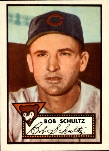 Photo of 1983 Topps 1952 Reprint #401 Bob Schultz